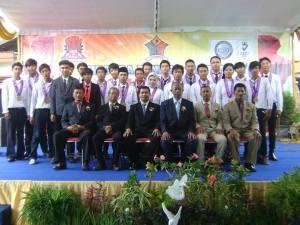 Wisudawan/ti SMK SIANG Surabaya Jurusan TKJ-1 tahun 2013