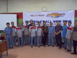 Workshop dengan Guru-guru SMK Se-SBY Jurusan TKR With ATPM Cevrolet