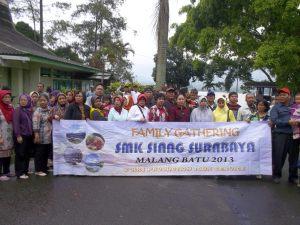 Family Gathering - SMK SIANG SURABAYA @Batu-Malang Tahun 2013