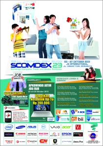 Poster Scomdex 23 - a