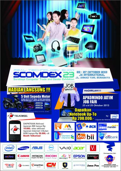 Workshop dan seminar SCOMDEX di JATIM EXPO. « SMK(STM
